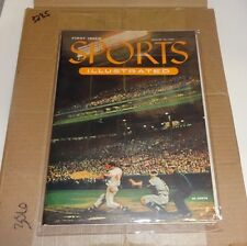 Original August 16, 1954 Sports Illustrated SI FIRST 1st ISSUE Eddie Mathews