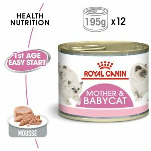 Royal Canin First Age Mother & Babycat Mousse - 12 x 156