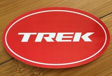 TREK Bicycle Cycling Sticker Decal - Red Oval