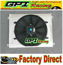 GPI Aluminum shroud +fan for TOYOTA LandCruiser 75 Series HZJ75 1HZ 4.2 diesel
