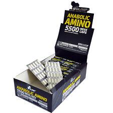 OLIMP AMINO 5500 MEGA CAPS EXTRA STONG ANABOLIC GROWTH BCAA + TAURINE VIT. B6