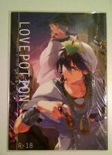 Love Potion Magi Doujin R-18