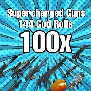 100x 144 Guns Save The World
