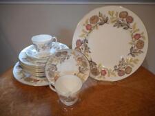 Wedgwood Lichfield bone china FOURTEEN piece starter set black mark