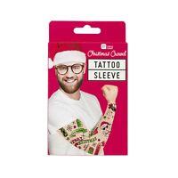 Christmas Tattoo Sleeve Secret Santa Gift Stocking Filler Fun Joke Xmas