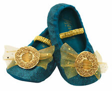 Disney Brave Merida Princess Green Slippers Toddlers Girls Costume Accessory