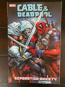 Cable & Deadpool: Separation Anxiety Vol 7 Mid Grade Marvel Trade CL75-79