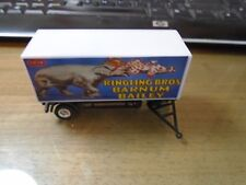 Nice Ho Scale Ringling Brothers Elephant and Clown Circus Wagon