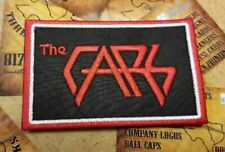 EMBROIDERED THE CARS ROCK BAND PATCH