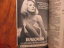 Jan. 21, 1984 TV Guide (ANGIE  DICKINSON/DIANA  RIGG//AIRWOLF MOVIE/MARLO THOMAS