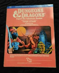 Dungeons And Dragons Temple Of Death Module 1983