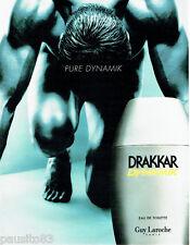PUBLICITE ADVERTISING 026  1999  Guy Laroche eau de toilette homme Drakkar Dynam