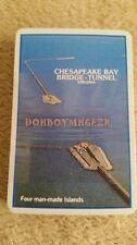 Vintage Standard Deck Playing Cards Chesapeake Bay Bridge Tunnel New Unused