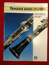 Yamaha Band Student Bb Clarinet Method Book 2 - #3925 - Brand New Free Ship