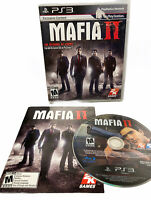 Mafia II 2 - No Map - Has Manual, Case; Disc is excellent PlayStation 3 PS3