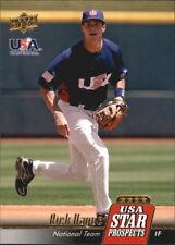 2009 Upper Deck Signature Stars USA Star Prospects #USA-30 Rick Hague