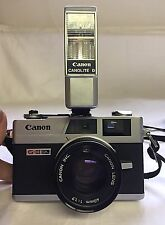 Canon Canonet QL17 GIII 35mm Camera - 40mm f/1.7 Lens w/ Canonlite D Flash