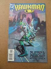 Hawkman 5 .  Green Arrow App . DC 2002 . VF