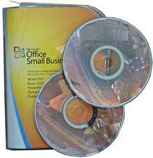 MS Office Small Business 2007   BOX   CD DVD   Vollversion+Zweitnutzungsrecht DE
