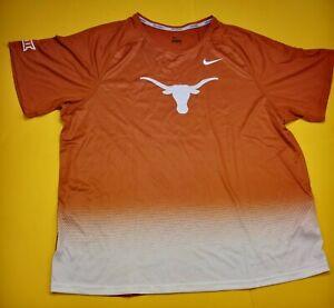 RARE New Nike Pro Elite Texas Longhorns Track & Field Running Shirt Mens Sz XXL