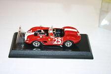 1/43 FERRARI 500 TRC 1961 NURBURGRING RED WITH WHITE & ENGINE DETAIL ART MODELS