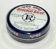 SMITH'S Rosebud Salve Lip Balm Tin Skin Moisturizing 0.8 oz