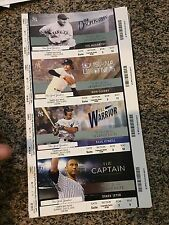 2015 NEW YORK YANKEES VS TAMPA BAY RAYS SUITE TICKET STUB 7/5 RON GUIDRY