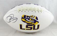 Odell Beckham Autographed LSU Tigers Logo Football- JSA Authenticated
