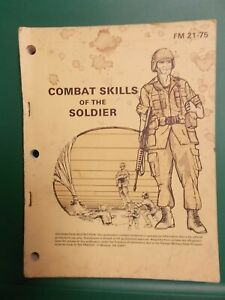 """Army """"Combat Skills Of The Soldier"""" Book"""