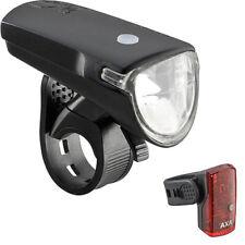 AXA GreenLine 35 Set Fahrrad-Frontlicht 35 Lux + Rücklicht 1 LED StVZO-Zulassung