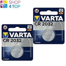 2 VARTA CR2032 LITHIUM BATTERIES 3V COIN CELL BUTTON DL2032 E-CR2032 NEW