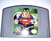 Superman - Original Nintendo N64 Game - Tested - Working - Authentic!