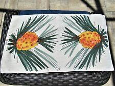 New listing Vintage Vera Pineapple Linen Towel