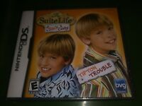 New Suite Life of Zack & Cody: Tipton Trouble (Nintendo DS, 2006) Freeshipping