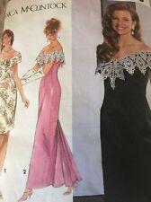 SIMPLICITY 7817 PATTERN  MISSES /MISS PETIT LINED DRESS  CUT SIZE 6 SHORT LENGTH