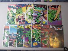 TROLLORDS # 1 2 3 4 5 6 - 11 (12 issues) by Tru Studios, Comico & Apple Comics