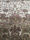 New Handmade in India Palace Size Oriental Rug, Floral Design,Fine Quality 12x18