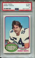 1976 Topps Football #158 Randy White Rookie Card RC Graded PSA MINT 9 Cowboys