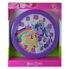 "MY LITTLE PONY DECORATIVE KIDS ROOM 10"" ROUND WALL CLOCK GIFT WATCH NIB"