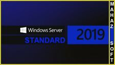 Microsoft Windows Server 2019 STANDARD 64BIT GENUINE LATESTLICENSE KEY CODE+ESD+