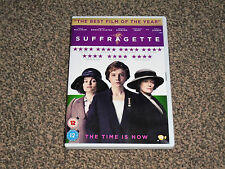 SUFFRAGETTE : 2016 CAREY MULLIGAN MERYL STREEP DRAMA DVD - IN VGC (FREE UK P&P)