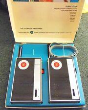 1950s Westinghouse Communicator  Vintage Walkie Talkie Radios W/ Box