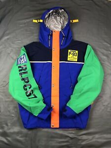 Polo Ralph Lauren RLPC67 P93 CP 93 Hi Tech Color Block Jacket XL Cycle Stadium