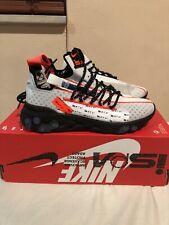 Nike Sportswear React ISPA Ghost Black Men Size 5, women's size 6.5 CT2692-400