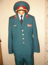 USSR Soviet army ceremonial  uniform Red infantry Colonel  officer 198X