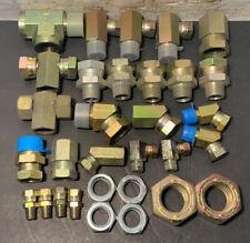 Lot of 31 Weatherhead Eaton Hydraulic Hose Pipe Fittings Swivel Male Female NEW