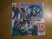 ONE DIRECTION BANK NOTE 1 MILLION EURO BANKNOTE NOVELTY XMAS