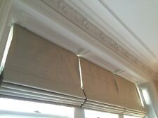 Bespoke Roman Blind and Curtain make up service