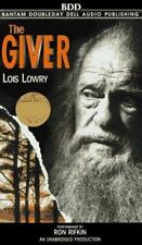 The Giver by Lois Lowry (1995, Audio Cassette, Unabridged) NEW