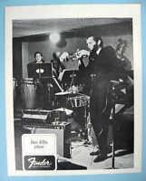 FENDER and DON ELLIS ORIGINAL 1968 PROMO PHOTO